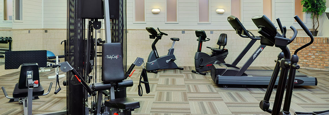 Fort St. John at Stonebridge Hotel's fitness center with modern equipment